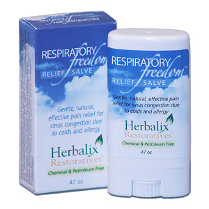 Respiratory Freedom Herbalix Respiratory Freedom Relief Salve is Acetaminophen free and why this is important